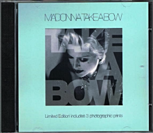 TAKE A BOW - UK CD SINGLE + PHOTO PRINTS (W0278CDX)